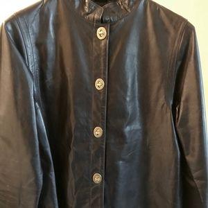 New Coach Leather Jacket